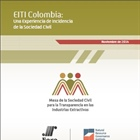 EITI Colombia: Una Experiencia de Incidencia de la Sociedad Civil