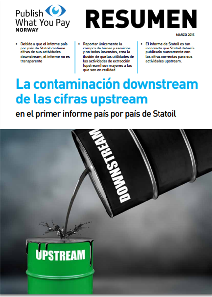 La contaminación downstream de las cifras upstream